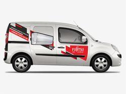 Брендирование автомобиля Fujitsu