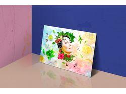 Коллаж для открытки