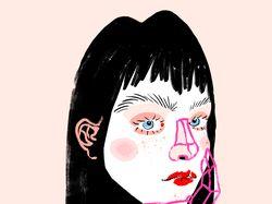 Портреты-персонажи-человечки by Left Hand