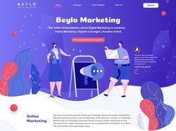 Промо-сайт для компании Beylo (Дизайн и маркетинг)