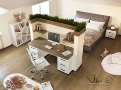 Kid room design (Dnipro)