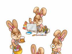 Bunny stiker