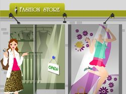 Fashion preloader