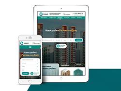 Дизайн сайта для центра застройщиков