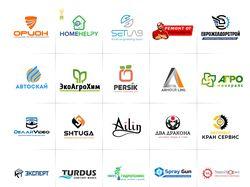 Сборник реализованных логотипов