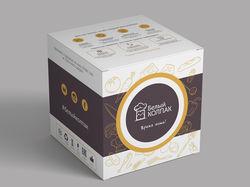 Дизайн упаковки для компании по доставке еды