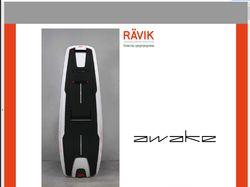 Перевод и верстка инструкции на серфборд RAVIK