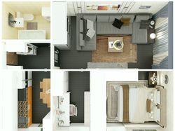 квартира - вид сверху