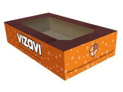 Коробка для кондитерской продукции