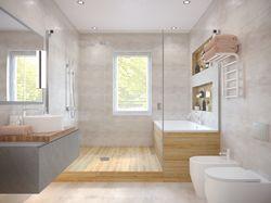 Моделирование и визуализация 3-d ванной комнаты