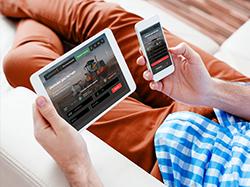 Дизайн сайта сервиса по перевозкам/аренде техники