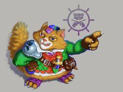 персонаж кот пират