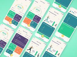 Фитнес приложение с подсчетом мышечной активности