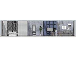 Жилая квартира 44 кв.м.