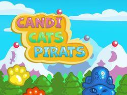 интерфейс к игре Candi,Cats, Pirats