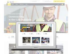 Дизайн сайта для BuildWall