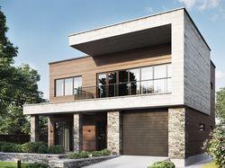 Архитектурный проект жилого дома + дизайн фасада