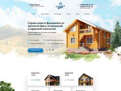 Адаптивная верстка «Славянский дом». WordPress