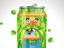 Персонаж для оформления напитка