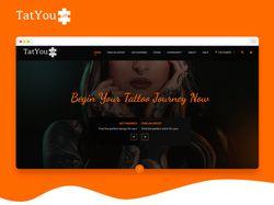 Дизайн главной страницы TatYou