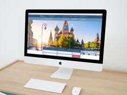 Сайт московского турагентства