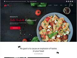 Сайт для ресторанов