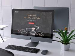 Сайт для бренда Royal Enfield