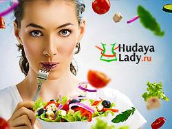 Дизайн для проекта Hudaya Lady. Обзоры на товары.