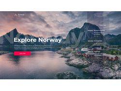 Веб-дизайн для туристического агентства