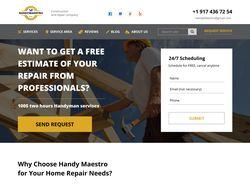 HandYMaestro - корпоративный сайт (Los Angeles)