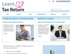 Learn tax return