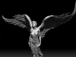 опечаленный ангел