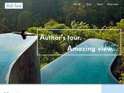 Дизайн главной страницы сайта авторского тура
