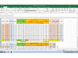 Создание Excel - таблиц