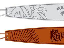 Дизайн браслетов для промо-акции Malibu, Kahlua
