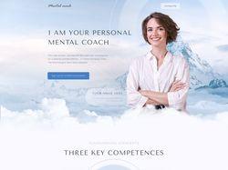 Концепт сайта для психолога или коуча