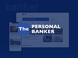 Дизайн сайта The Personal Banker