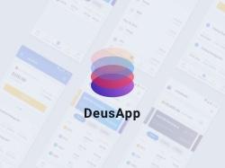 Дизайн мобильного приложения DEUS APP