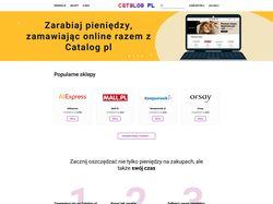 Верстка сайта Польской компании с акциями