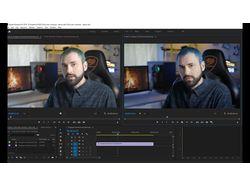 Покраска видео 10 бит 4к 25 в Premiere Pro