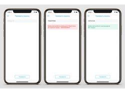 Функция проверки ТС в приложении MTS для iOS