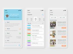 Дизайн приложения для командировок