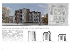 Многоэтажный жилой дом переменной этажности