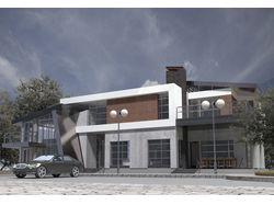 Визуализация. Проект индивидуального жилого дома