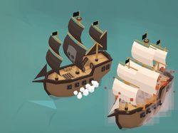 SailFire.pw - 3D онлайн игра на Three.js, Node.js