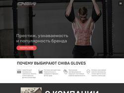 Landing Page: Аксессуары CHIBA оптом