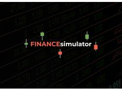 Finance sinulator веб-приложение(сайт).