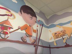 роспись в развлекательном центре