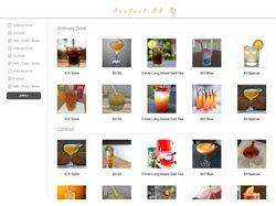 Разработка страницы коктейлей на Angular