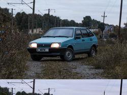 Обработка фото машины